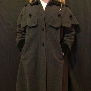 Rothschild size 14 dark grey pea coat